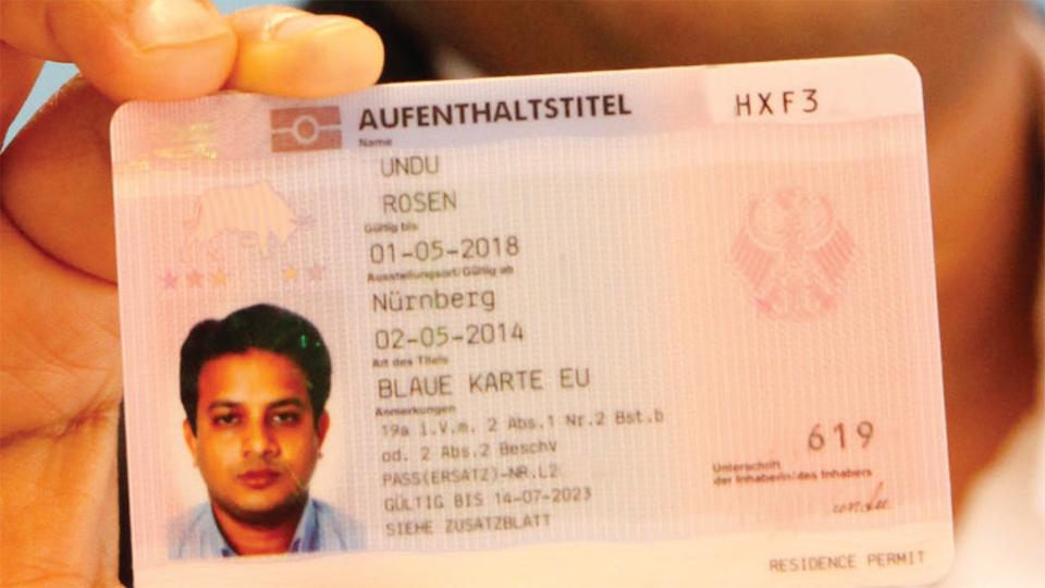 blue karte deutschland BAMF   Bundesamt für Migration und Flüchtlinge   The EU Blue Card